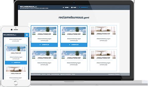 Overview lijst voorbeeld Meetingrooms